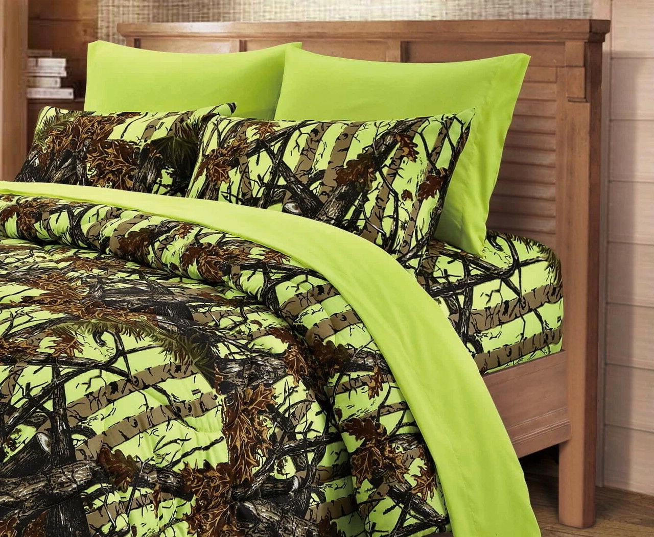 7 Woods Camo Comforter sheets/pillowcases