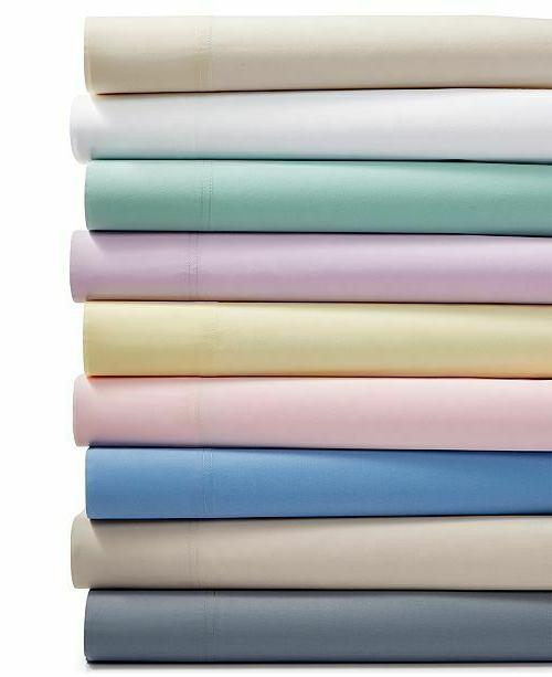 KING SIZE WHITE SOLID BED SHEET SET 800 THREAD COUNT 100% EG