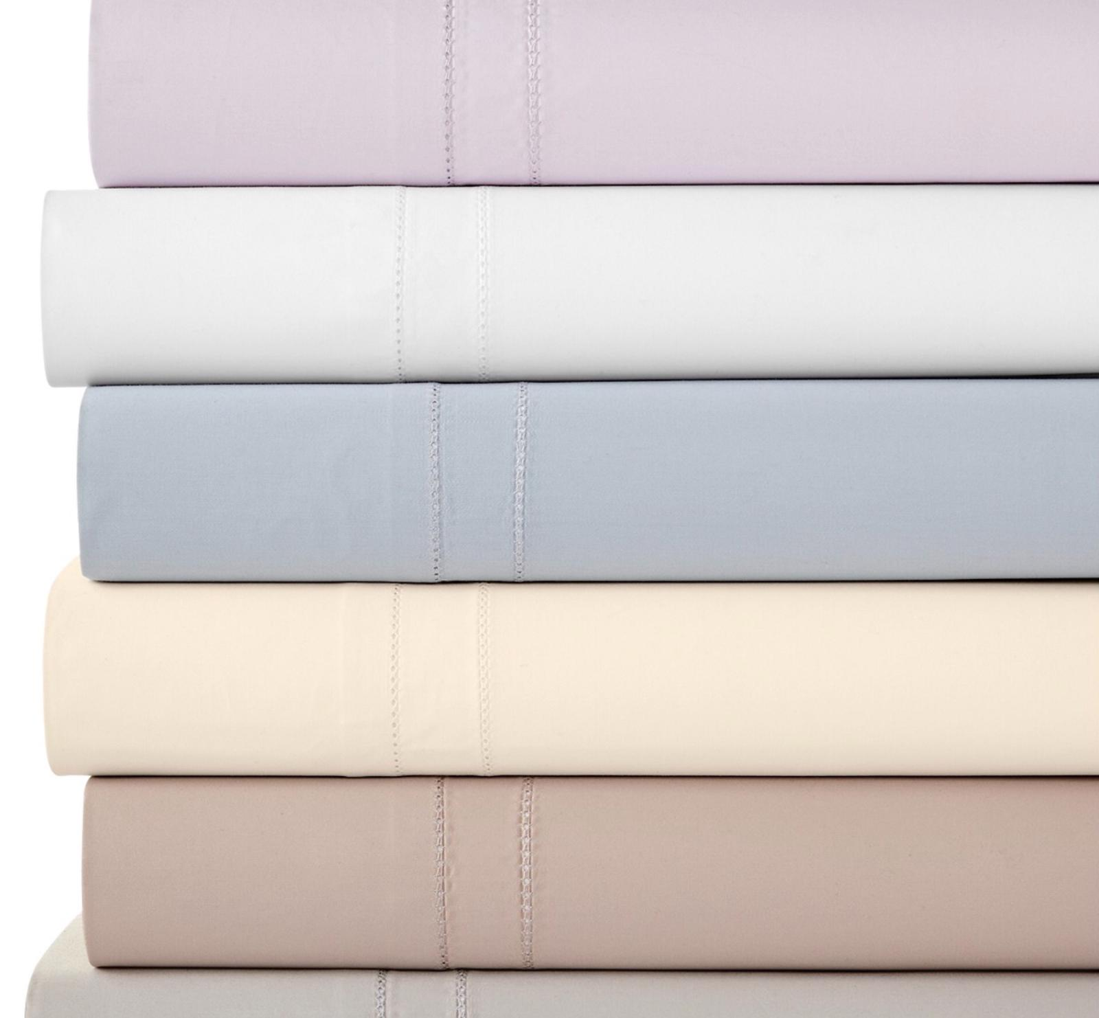 800 thread count king fitted sheet white