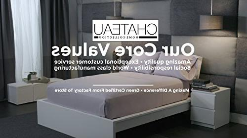 CHATEAU HOME 800 Thread Cotton Sheets Set Deep Pocket Best Sheets Set,