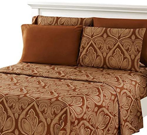 Lux Decor Collection Bed Sheet Set - Brushed Microfiber 1800