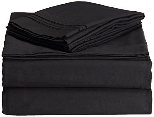 SALE Premier Bed Sheet Set - King Size, Charcoal Gray,