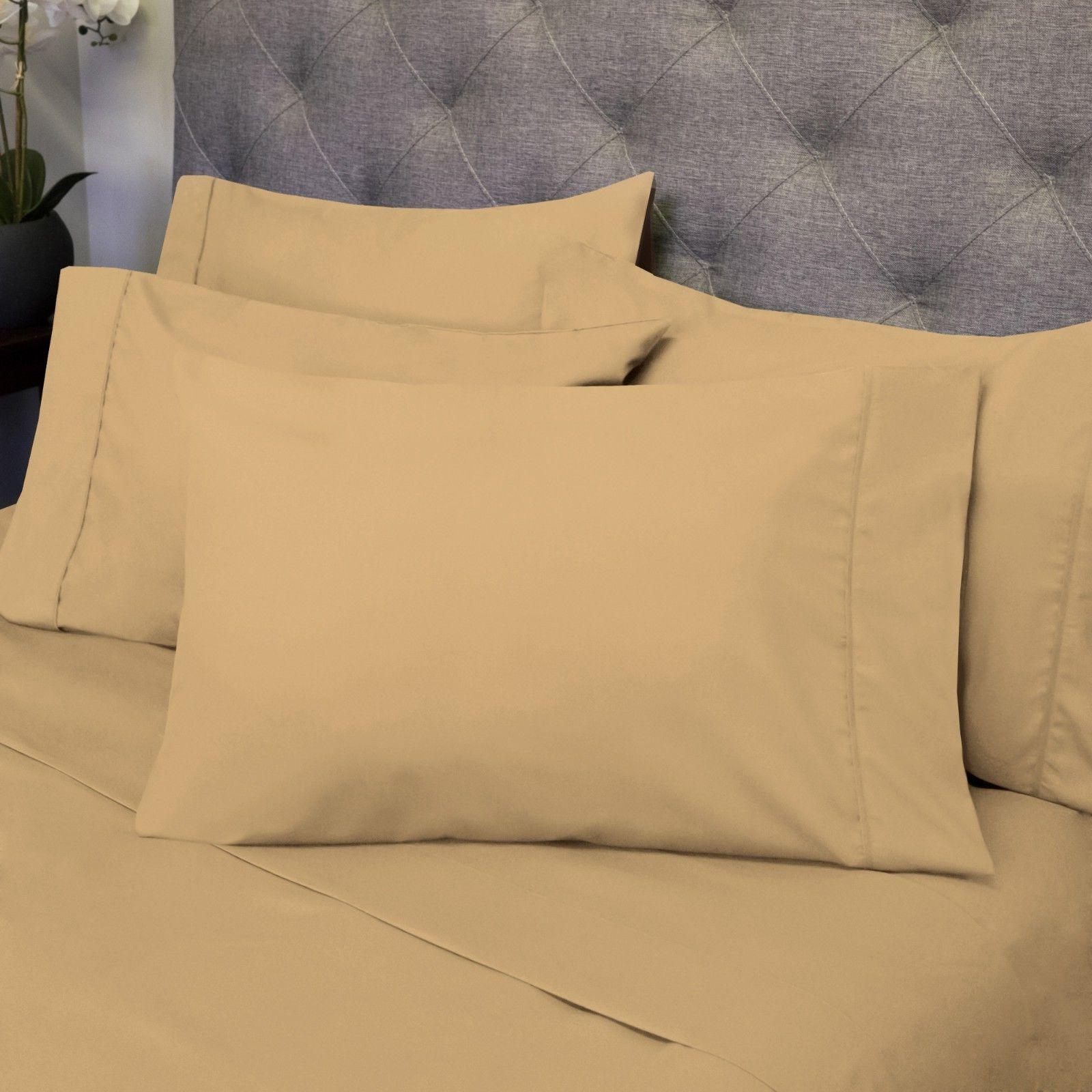 Sweet Home Collection 1500 Thread Count Cal King 6 Piece She