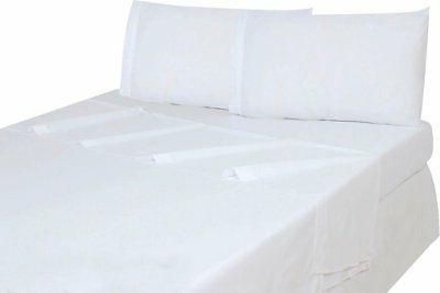 Utopia Bedding Flat Sheet  Brushed Microfiber, Breathable, E