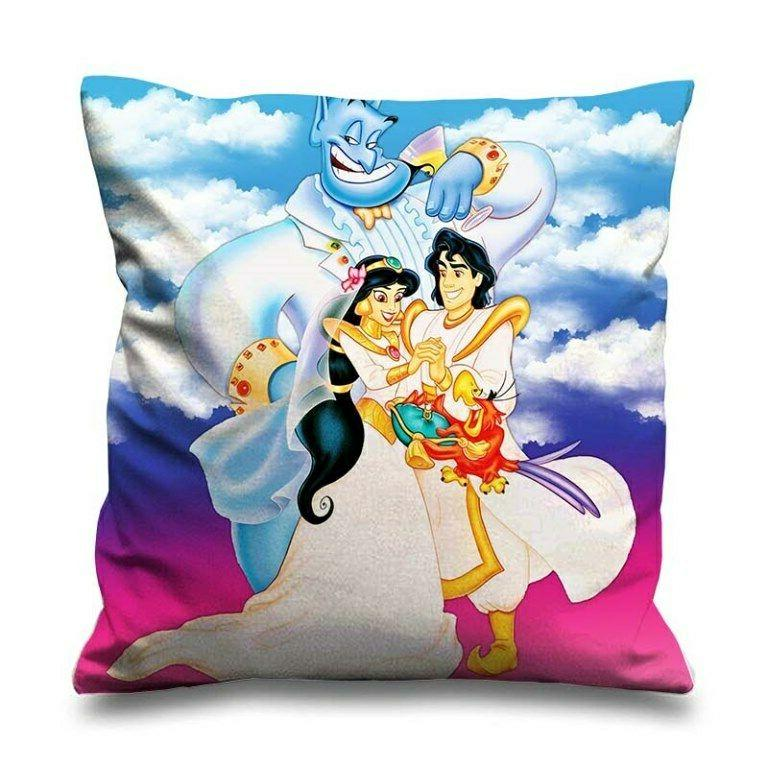 aladdin of the king decorative zippered pillow