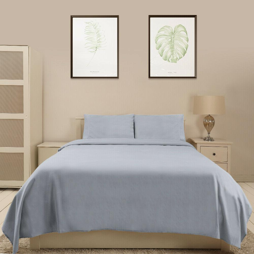 Bed Fitted Twin XL Queen King 14 colors