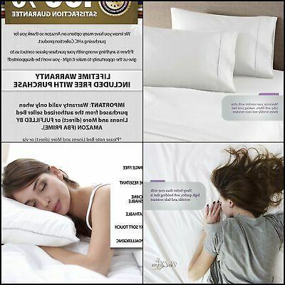 bed sheet pillowcase set hotel