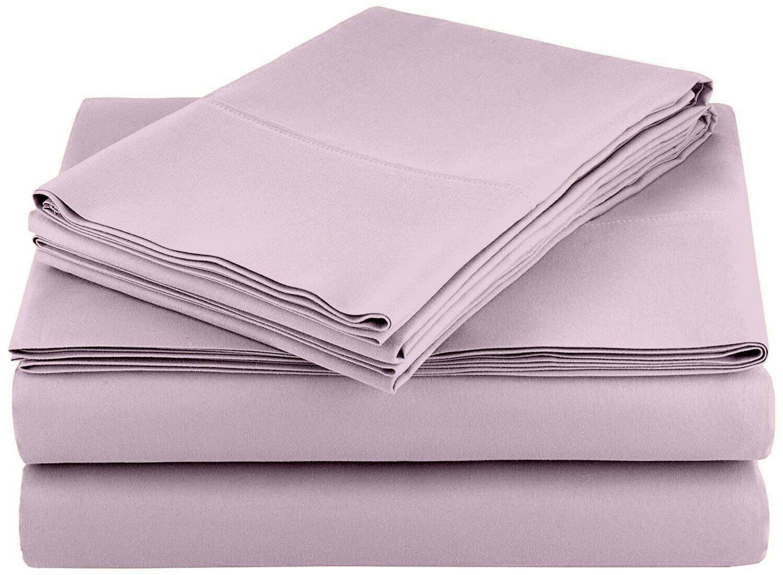 Bed Sheet Set Piece Soft Deep Pocket