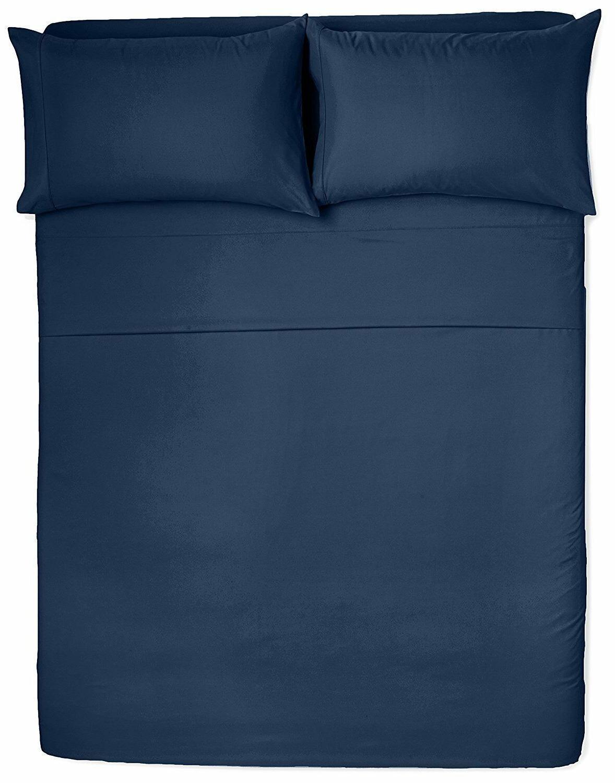 Bed Sheet Pocket Egyptian Comfort 4pcs 3pcs