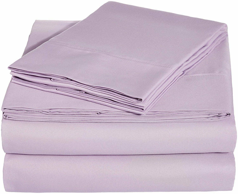 Bed Set Pocket Sheets Comfort 4pcs Twin 3pcs