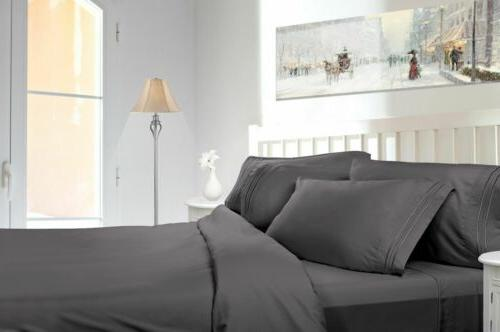 bed sheets and pillow cases microfiber complete