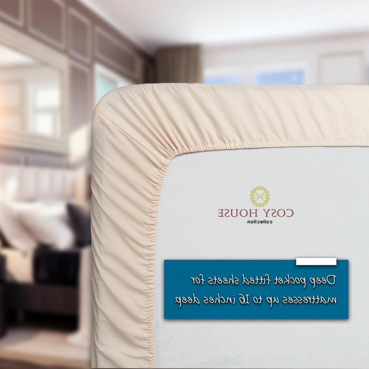 Cosy House Sheets Set 1500 Super Soft Bedding