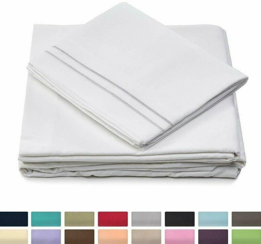 bed sheets set 1500 series super soft