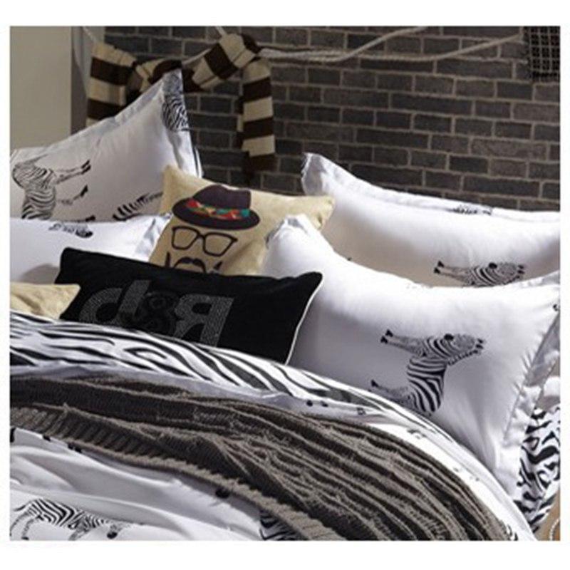 Bedding Set Sanding Duvet Pillowcase Cover Full King de