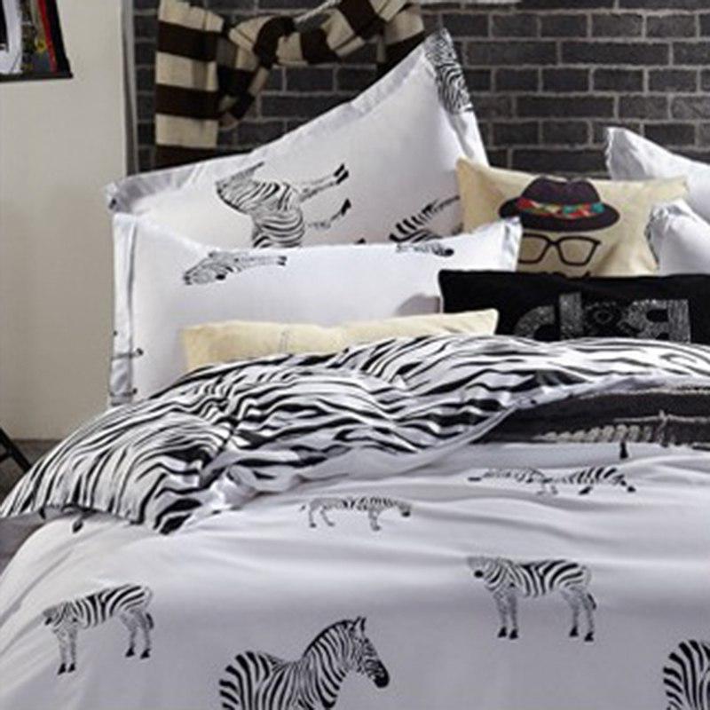 Bedding Set Simple Sanding Duvet Set Bedsheet Pillowcase Full de couette20
