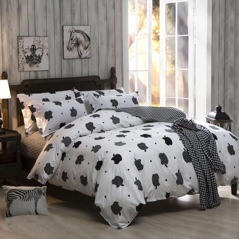 Bedding Set Duvet Pillowcase Cover Full King <font><b>bed</b></font> de couette20