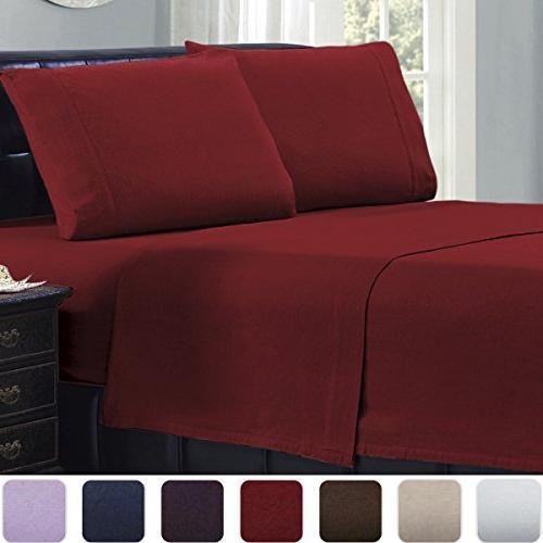 cotton flannel sheets set