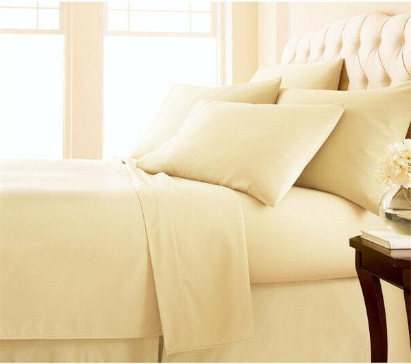 Deep Pocket Bed Sheet Set Luxury High Thread Count Egyptian