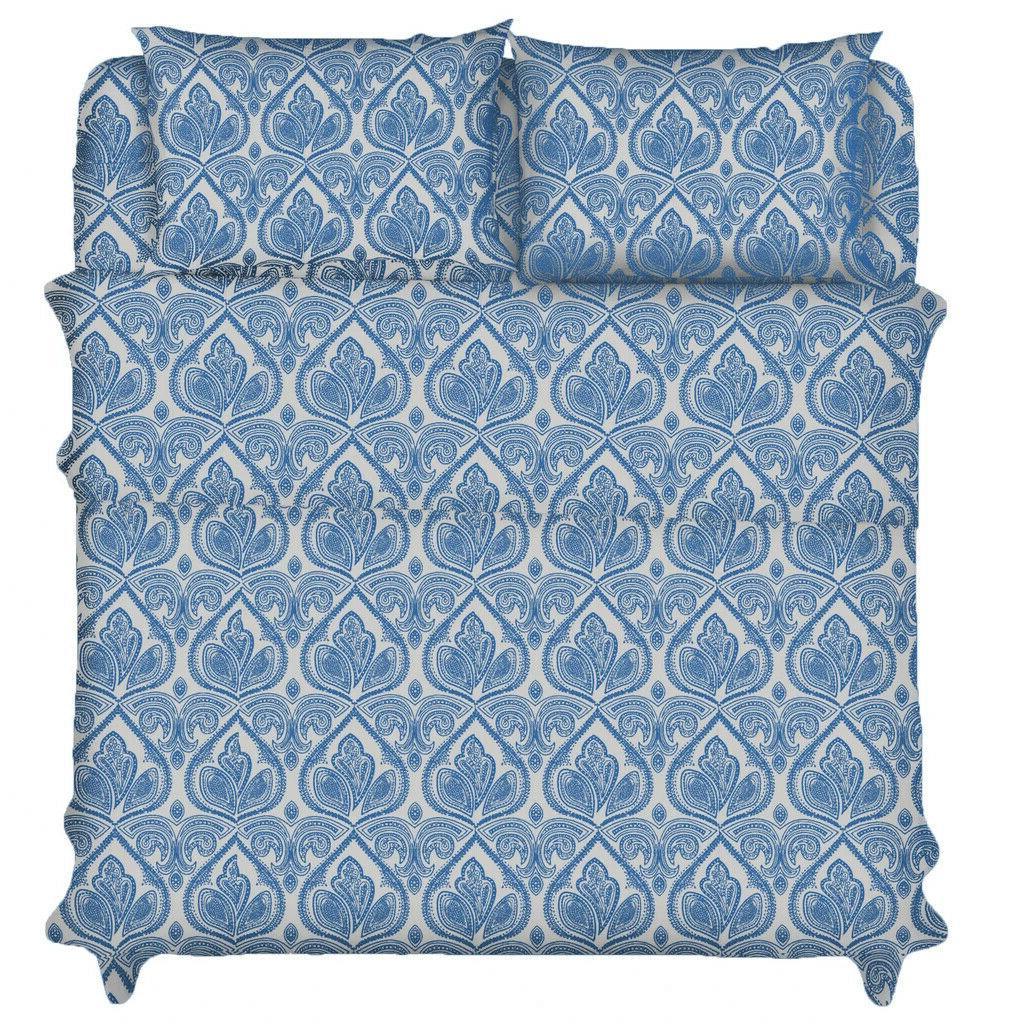 Deep Bed Count Egyptian Comfort Paisley Sheet Set