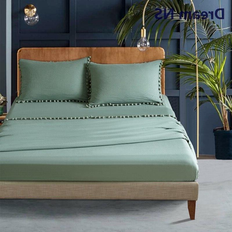 Dream NS Bedsheet Set 30cm <font><b>Long</b></font> <font><b>Sheet</b></font> Pillowcase Soft Washed