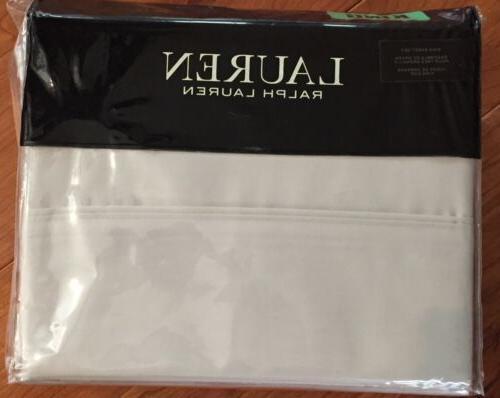 Lauren Ralph Lauren Dunham King Sheet Set - Silver
