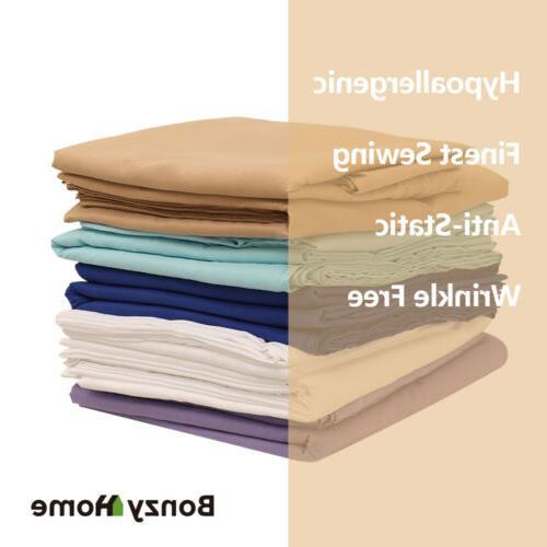 Egyptian Comfort Count 4 6 Bedding Pocket