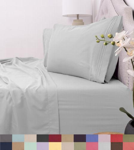 egyptian comfort 1800 thread bed