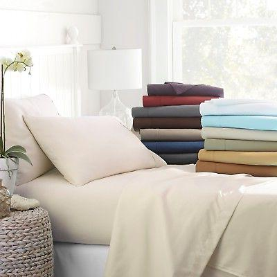 egyptian comfort 4 piece deep pocket bed