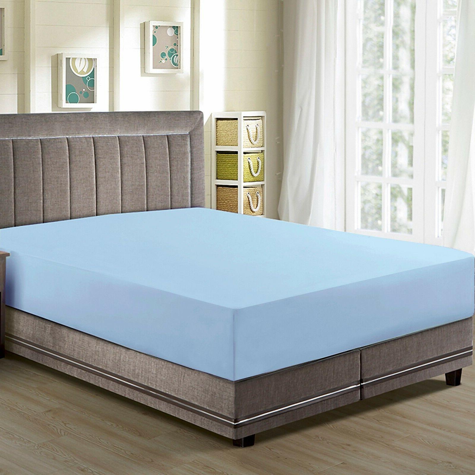 CC&DD- Fitted Sheet , Premier 1800 ,Luxury Super Silky Soft,