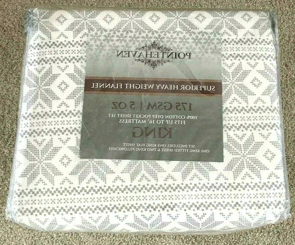 flannel deep pocket sheet set