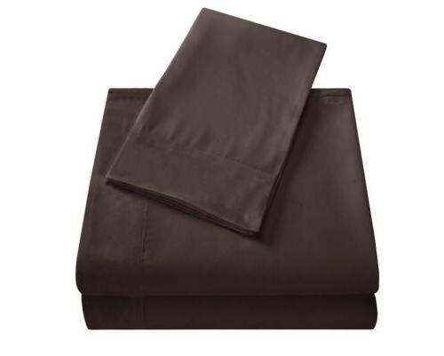 Flat Bed Sheets Set Deep Full Queen Essentials