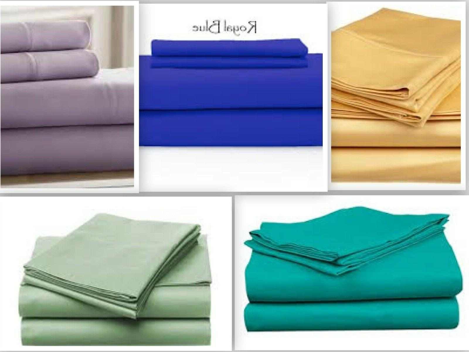 flat sheet 1800 count wrinkle free soft