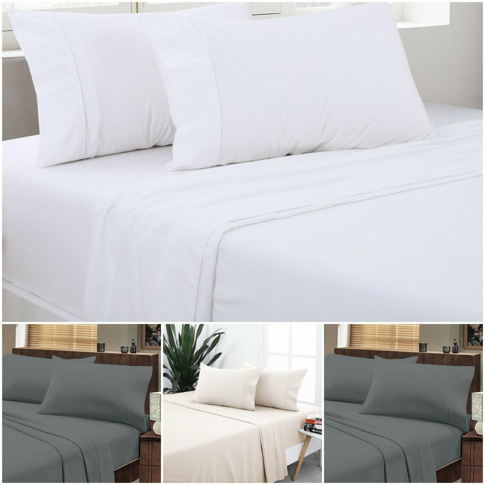 flat sheet collection wrinkle free soft sold
