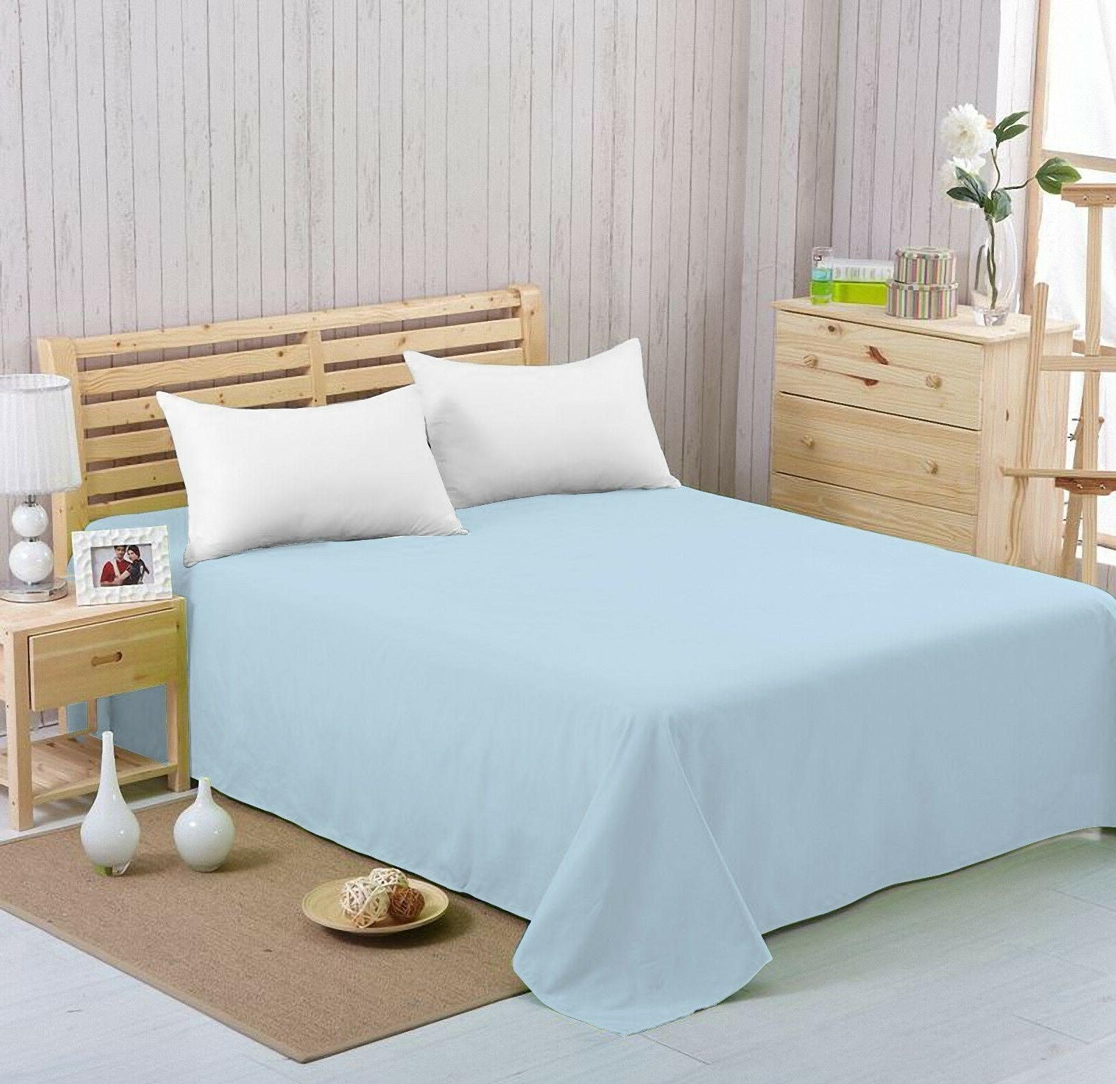 Flat sheet Extra Soft,Breathable& Microfiber Quality,