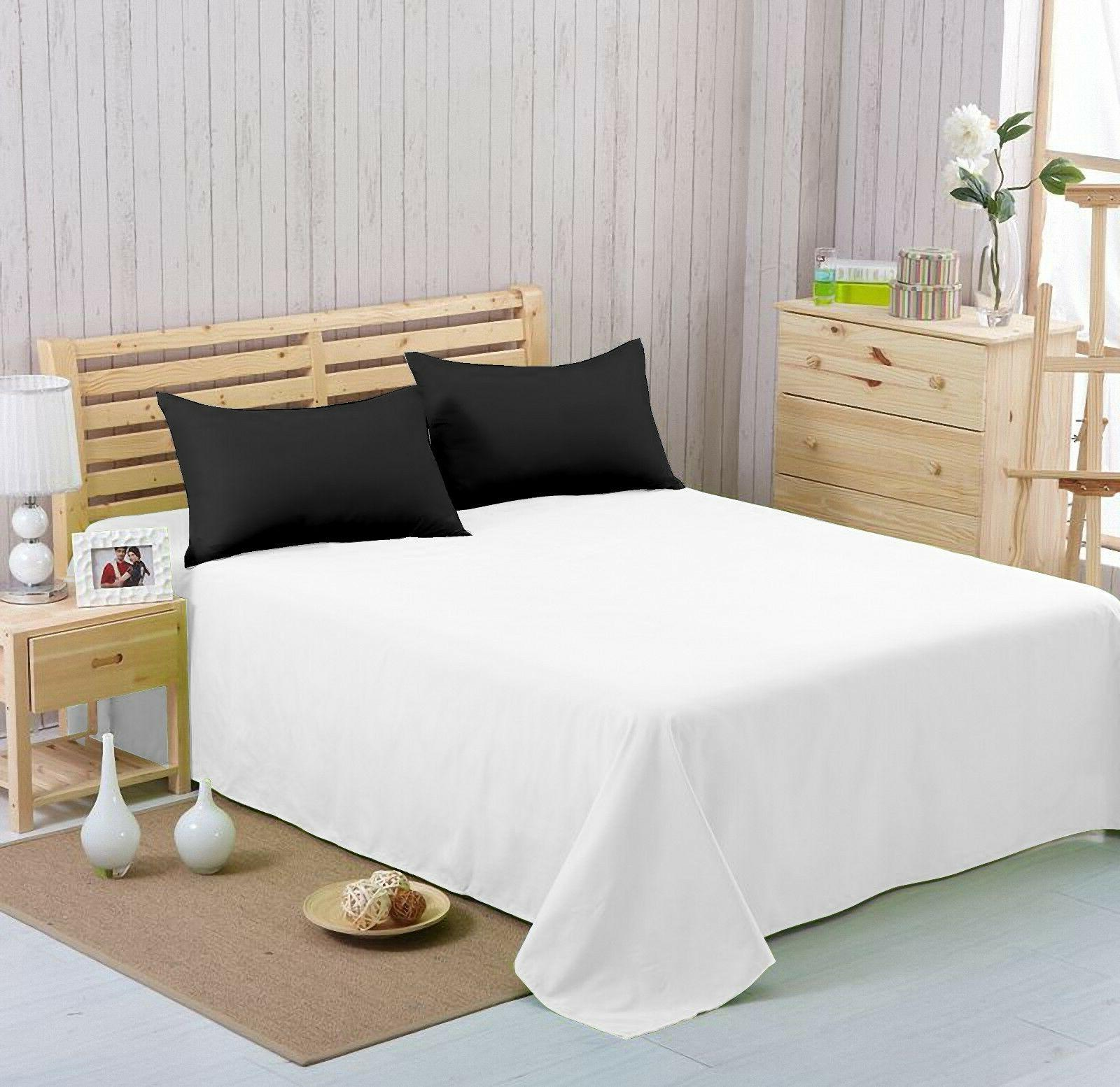 Flat sheet - Soft,Breathable& Comfortable ,Hotel Quality,