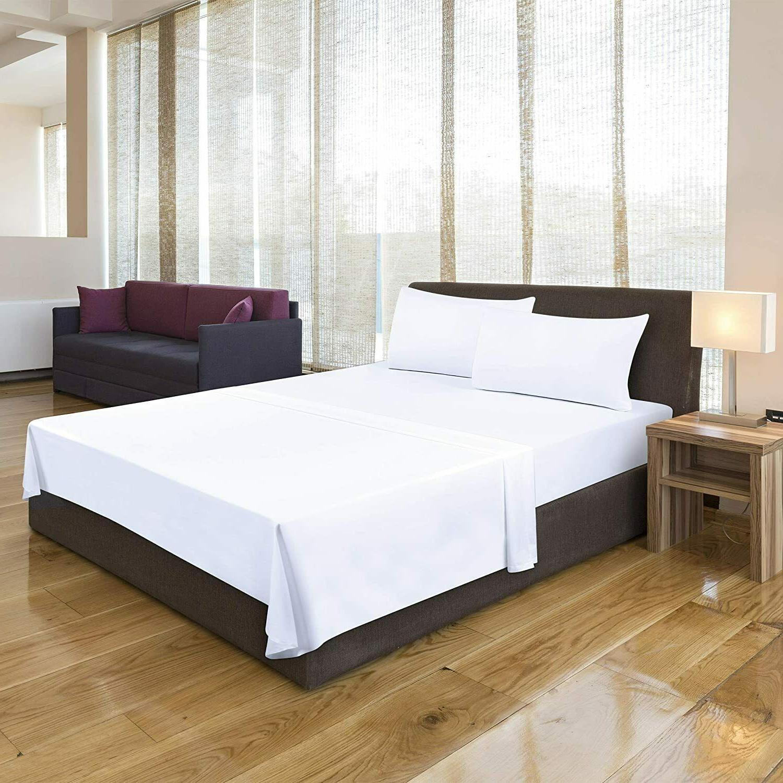Sheets Microfiber Quality White Utopia Bedding