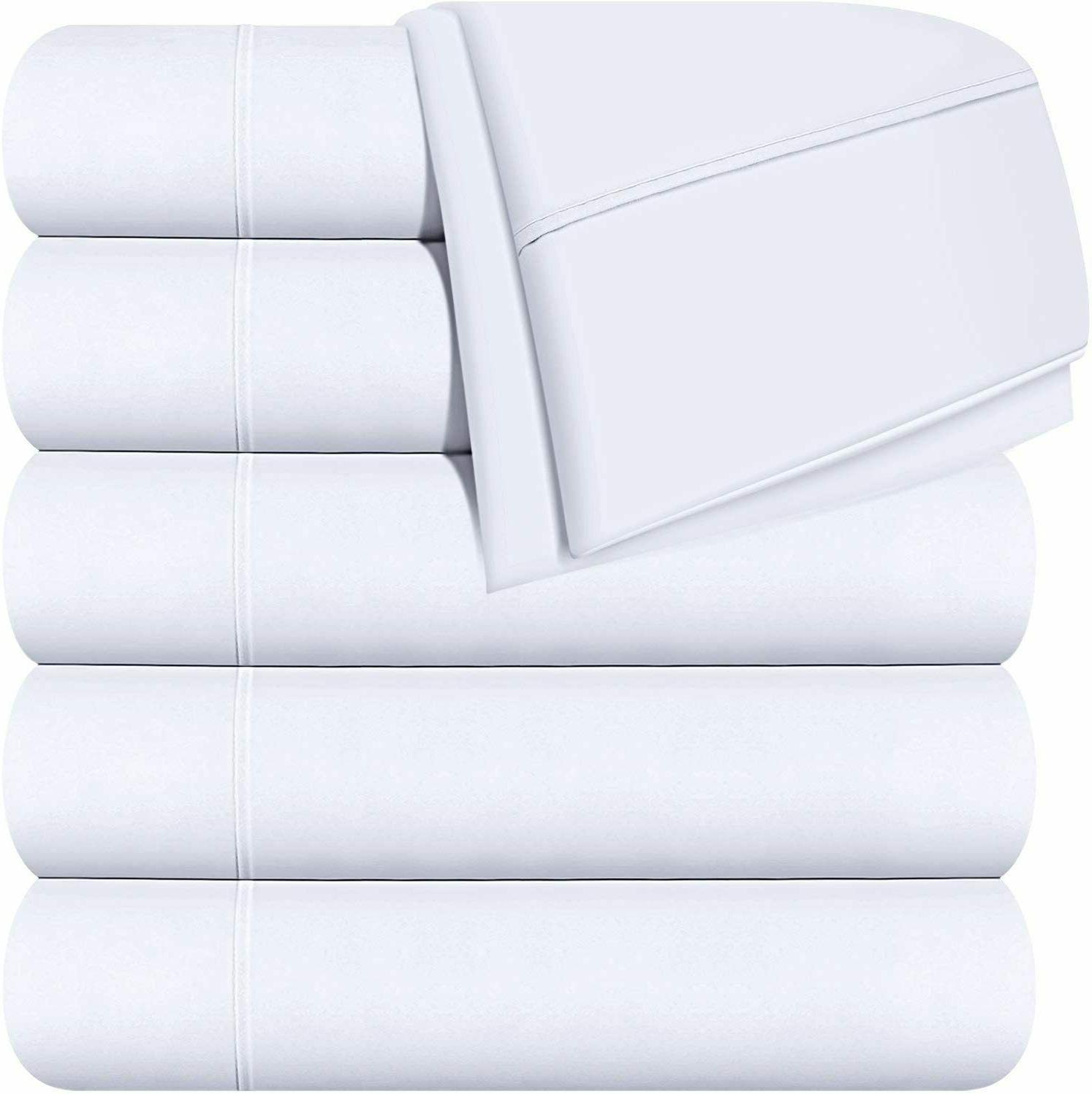 flat sheets brushed microfiber breathable hotel quality