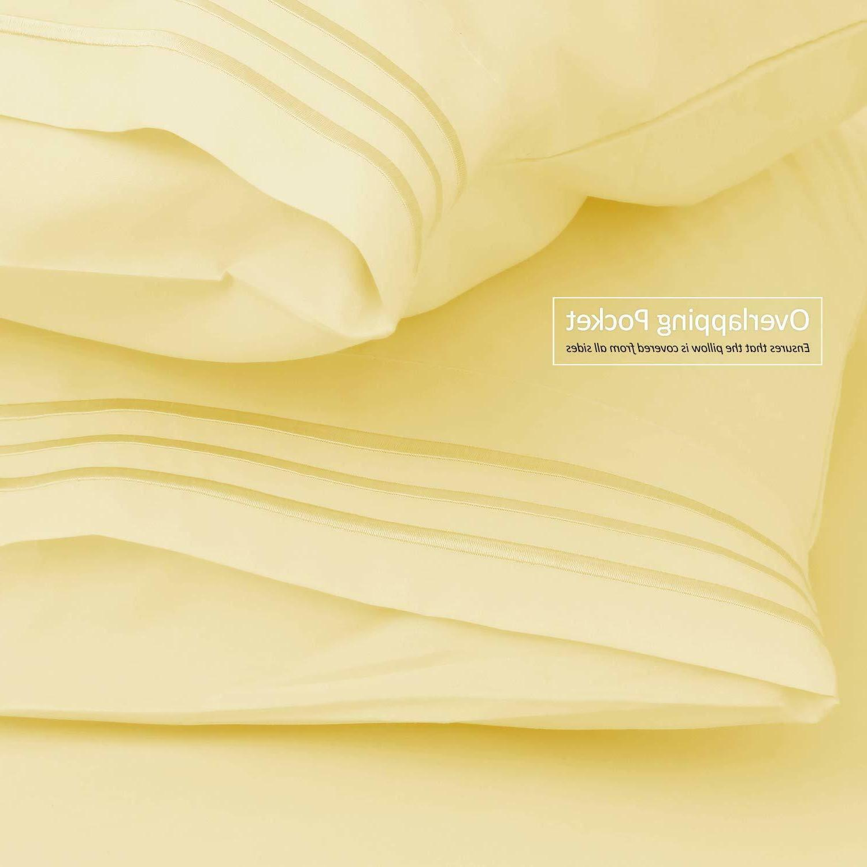 Flex King Bed Sheets Set Top Head Fits Sleep#