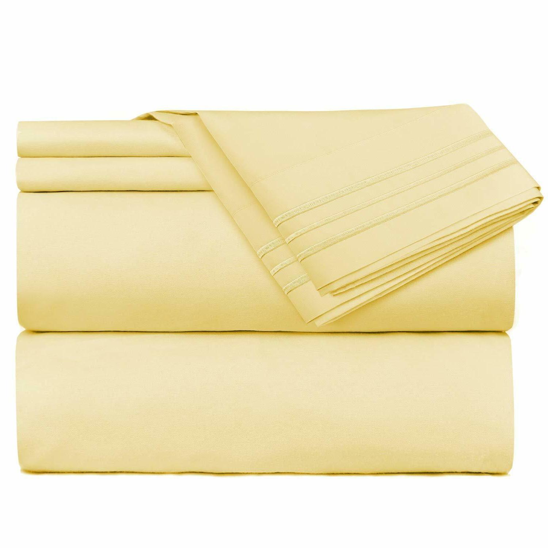flex king bed sheets set top head