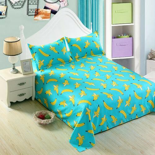 Floral Flat Twin Full King Comfort Sheet