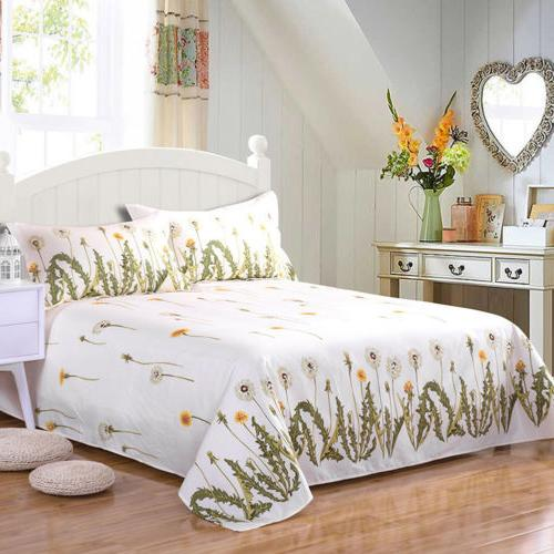 Floral Flat Twin Full Comfort Bed