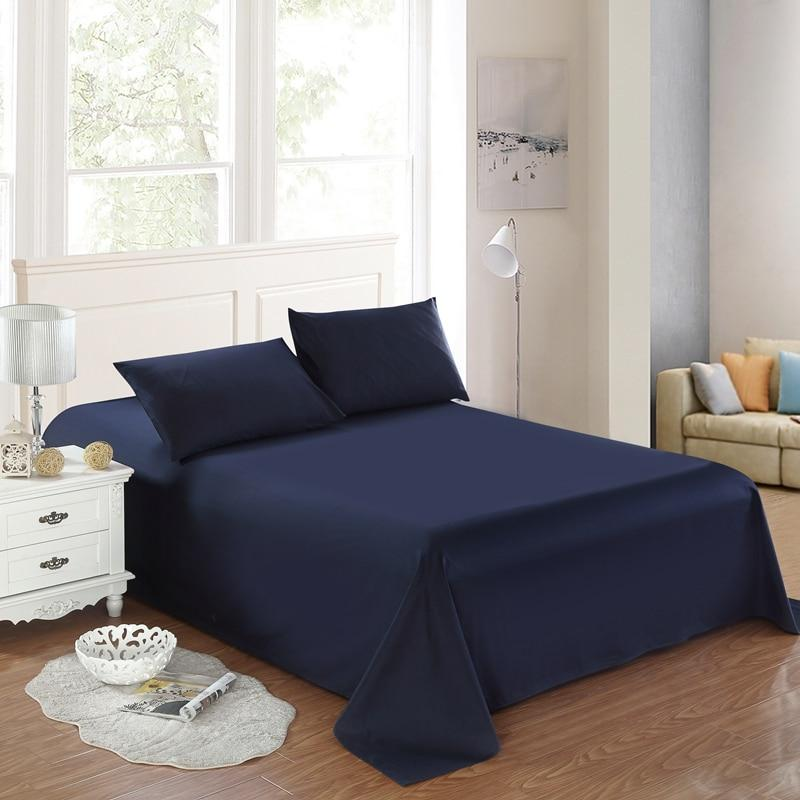 Soft Queen size <font><b>Bed</b></font> <font><b>Sheet</b></font> Pillow Wrinkle & Fade