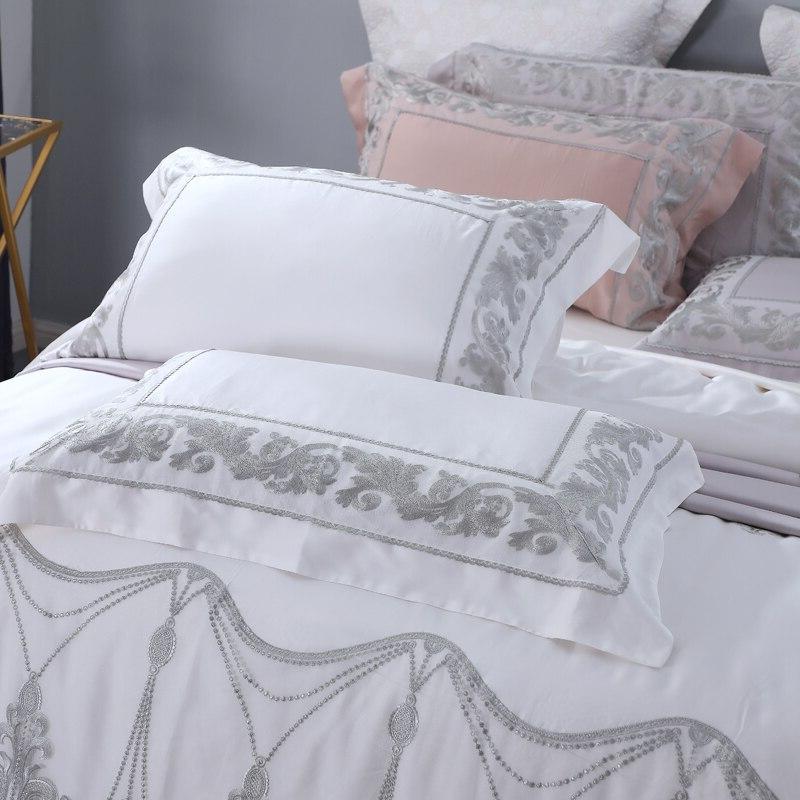 <font><b>800</b></font> Lace 4 Bedding Sets Size Tencel Lyocell Set