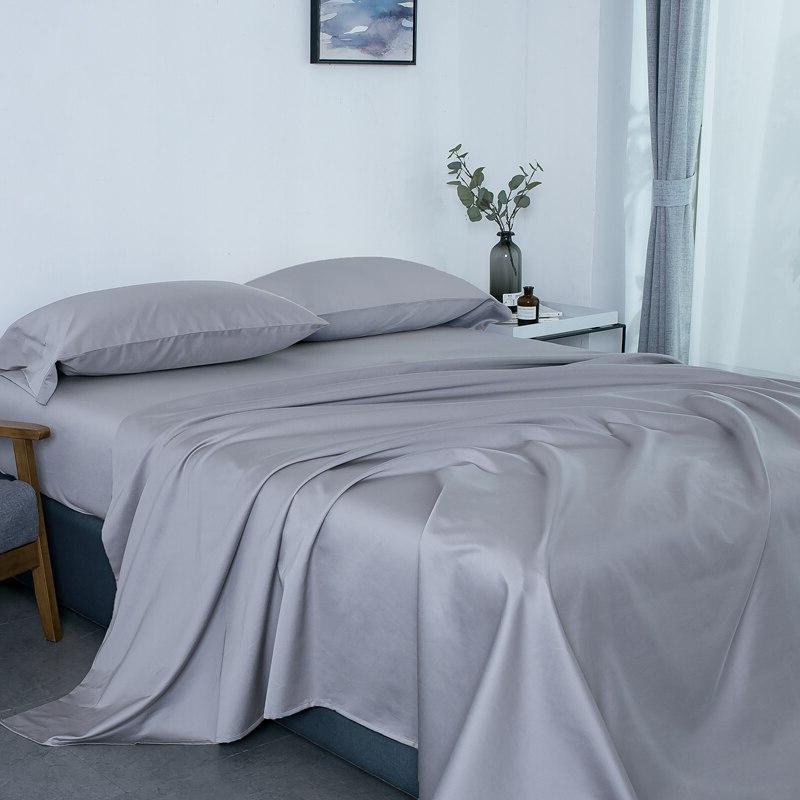 PHF <font><b>Thread</b></font> Egyptian Satin Weave Deep Cozy Durable 4 Grey