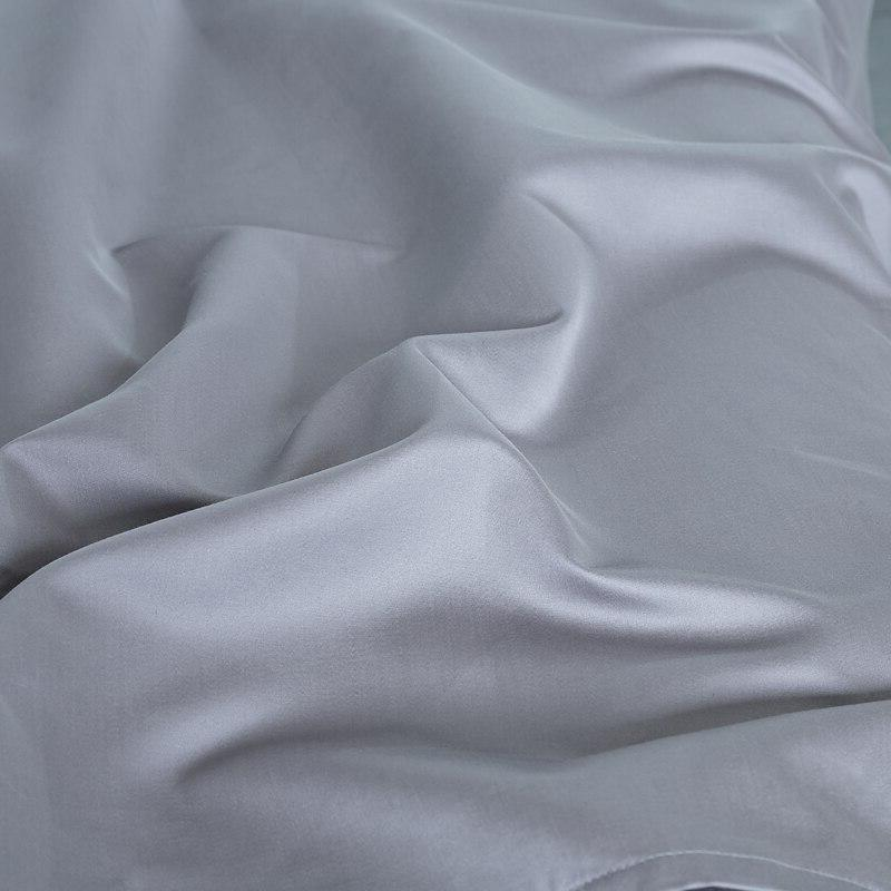 PHF Egyptian Satin Weave 4 Pieces Size Grey