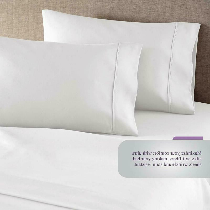 Hc Hotel Comfort Sheets Set, 1800 Bedding Deep