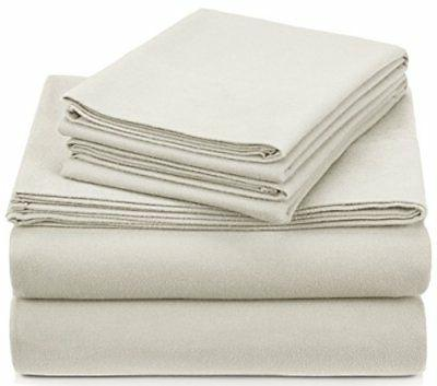 heavyweight velvet flannel sheet set