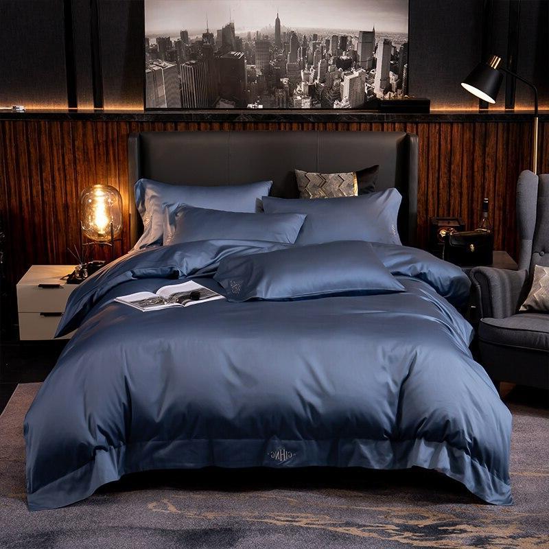 High End Premium Egyptian Cotton Soft Duvet cover set White Bedding Set Comforter Cover