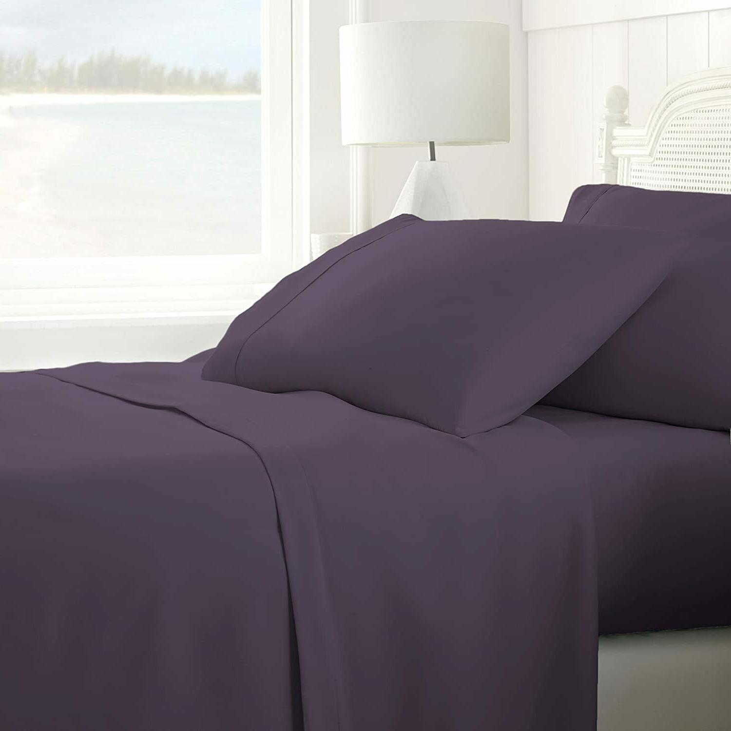 home collection 4 piece ultra soft sheet