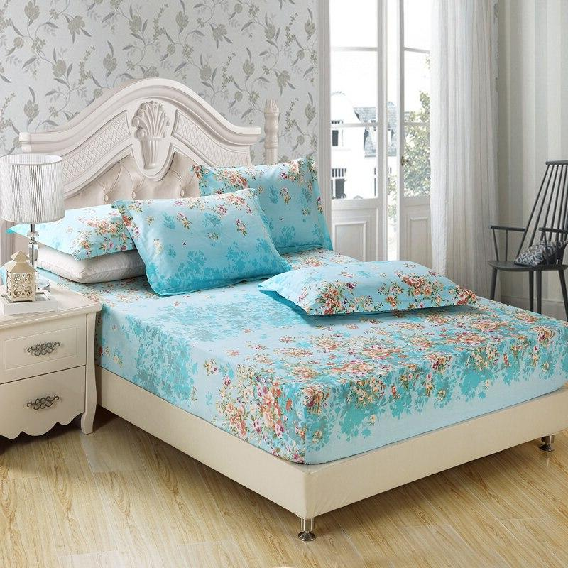 Home bed <font><b>solid</b></font> fitted bedspread full queen size